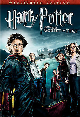 Harry Potter and the Goblet of Fire (DVD, 2006, Widescreen) VERY GOOD