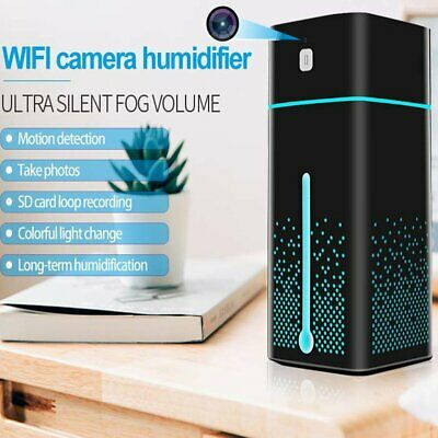 Wireless Wifi Mini Spy Camera Home Security HD Nanny Cam Camera with Humidifier
