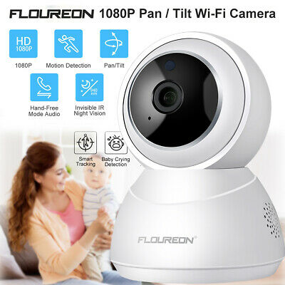 YI Cloud 1080P HD Wireless Home IP Camera Security Smart Tracking Baby Monitor