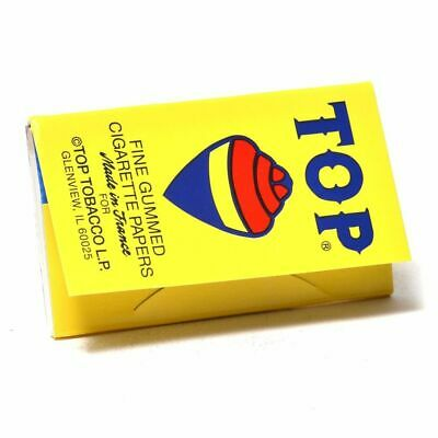 TOP Single Wide Rolling Papers - 1 PACK - Fine Gummed Cigarette RYO Tobacco RYO