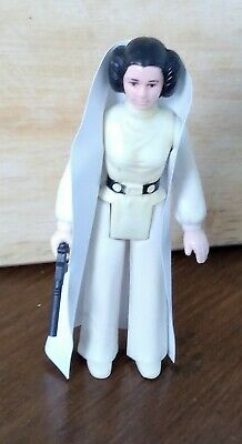 Princess Leia Organa Figure Vintage Star Wars Repro Cape And Blaster