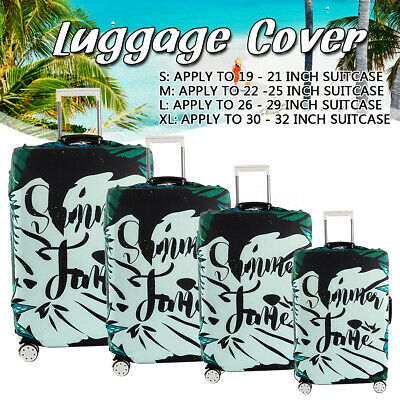 Luggage Suitcase Protective Cover Bag Elastic Dust-proof Case Protector 19-32''