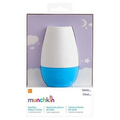 Munchkin Shhh Portable Sound & Light Nursery Baby Soother - NEW