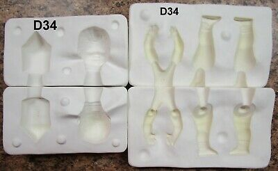 "doll house scale toddler 2 1//2/"" PRESS MOLD for polymer clay by Patricia Rose"