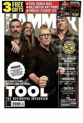 METAL HAMMER magazine #326 Tool The Definitive Interview + 16-page bonus mag