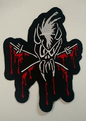 Metallica Embroidered Scary Guy BACK PATCH NEW USA SELLER FAST DELIVERY Thrash
