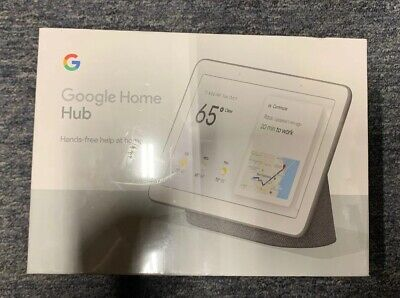 """(NEW & SEALED) Google Home Hub with Google Assistant 7"""" - Charcoal GA00515-US"""