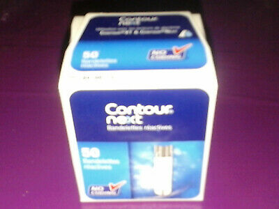 Contour Next 50 Test Strips, Lancets, new and original