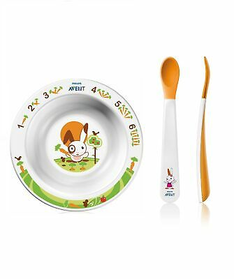 Avent Philips Set Pappa 6M + Tazón + 2 Cucharas