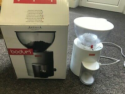 Bodum Antigua Electric Coffee Grinder, Used Comes In Box