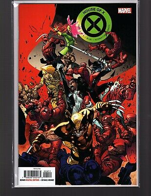 POWERS OF X #4(OF 6) 2019 MAHMUD ASRAR CONNECTING VARIANT MARVEL Comics NM+