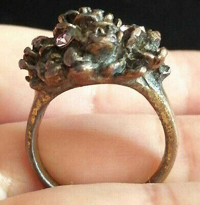 Ancient Vintage Bronze Ring Very Stunning Wonderful