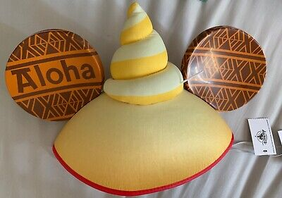 Disney Parks Dole Whip Disney Ears New With Tags Missing Tiki Hat