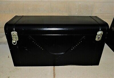 🔥 VINTAGE LAFAYETTE LUGGAGE CAR TRUNK CHEST 1920's FORD PACKARD ORIGINAL TAGS