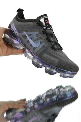 Nike air VaporMax 2019 MEN(Black)and (Purple)Running Trainers Shoes