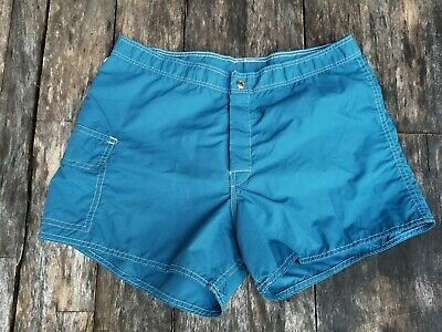 Vintage 1980's SUN BRITCHES swim trunks [36] large made in West Palm Beach USA