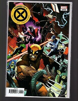 POWERS OF X 3 cover D Variant Mahmud Asrar connecting cover 🔥🔥🔥🔥NM+ MARVEL
