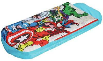 Marvel Avengers Junior Readybed Air Bed And Sleeping Bag - Missing Pump