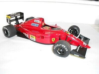 1:14 scale approx,  Assembled plastic kit.  Ferrari Formula 1. Good Condition