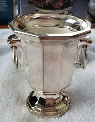 The Sheffield Silver Company Silverplate #851 Small Urn, New in Box