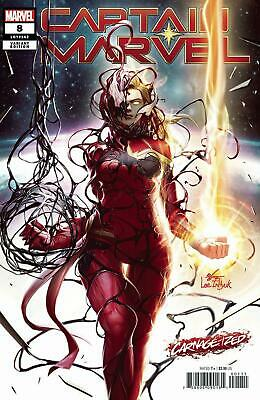 Captain Marvel #8 B Inhyuk Lee Carnage-Ized Variant VF+/NM+