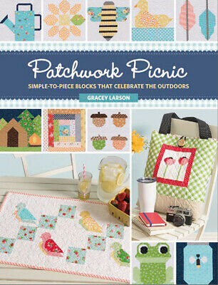 Pattern Book ~ PATCHWORK PICNIC ~ by Gracey Larson