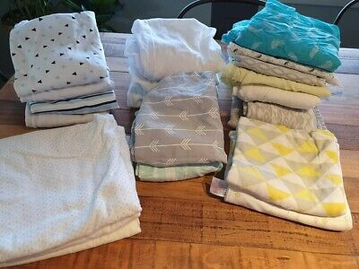 Bulk lot of varied baby linen