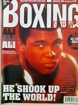 BOXING NEWS - 28 Aug 1998 - ALI SPECIAL - EXCELLENT CONDITION