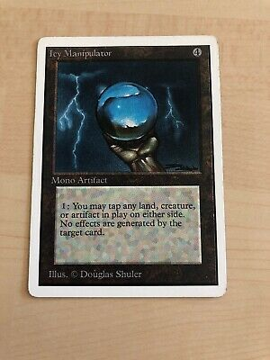 magic the gathering Icy Manipulator Unlimited