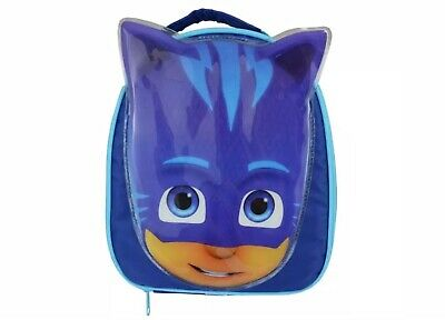 Official Licensed.pj Masks Catboy Blue Insulated Kids Lunch Bag. New Gift School