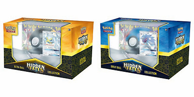 Pokemon Sun & Moon 11.5 Hidden Fates Poke Ball Collection Shiny Zoroark-GX