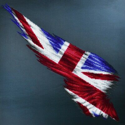 MINC22001 - Miniart Crafts - Wing Flag UK Bead Embroidery Kit