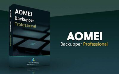AOMEI Backupper Professional V5  Authorized Reseller - Fast Download -