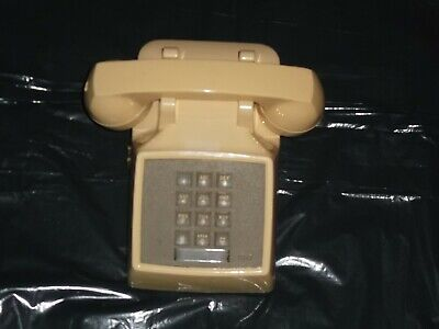 Vintage Touch Tone Tan At&T/ Bell Western Electric Telephone. ( Classic)