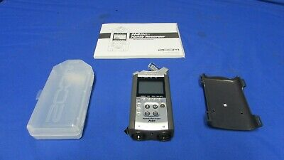 Zoom H4N Handy Recorder w/case, manual