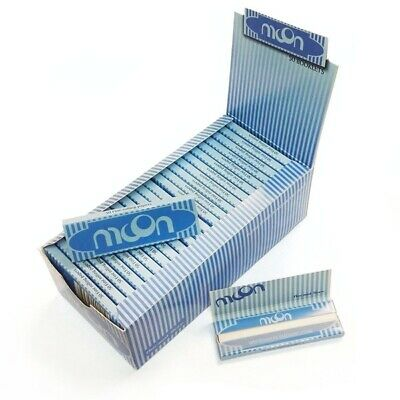 Rice Rolling Papers Moon Blue Buy 4@ Only $.88/PK! *Best Price* USA Shipped