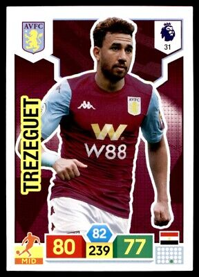 Panini Premier League Adrenalyn XL 2019/20 - Trézéguet Aston Villa No. 31