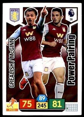 Panini Premier League Adrenalyn XL 2019/20 – Aston Villa Power Pairing No. 36