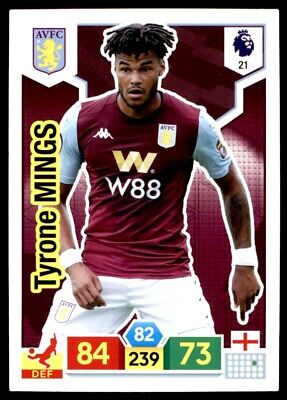 Panini Premier League Adrenalyn XL 2019/20 - Tyrone Mings Aston Villa No. 21