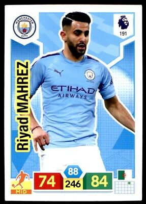 Panini Premier League Adrenalyn XL 2019/20 - Riyad Mahrez Man City No. 191