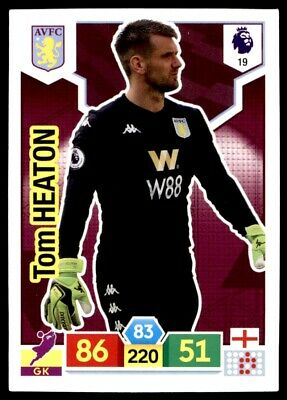 Panini Premier League Adrenalyn XL 2019/20 - Tom Heaton Aston Villa No. 19