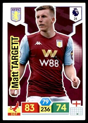Panini Premier League Adrenalyn XL 2019/20 - Matt Targett Aston Villa No. 24