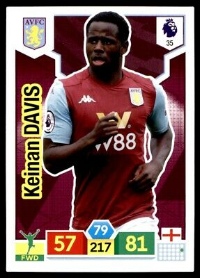 Panini Premier League Adrenalyn XL 2019/20 - Keinan Davis Aston Villa No. 35