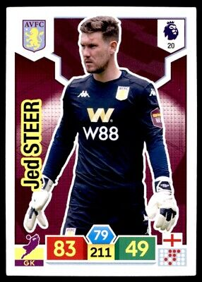 Panini Premier League Adrenalyn XL 2019/20 - Jed Steer Aston Villa No. 20