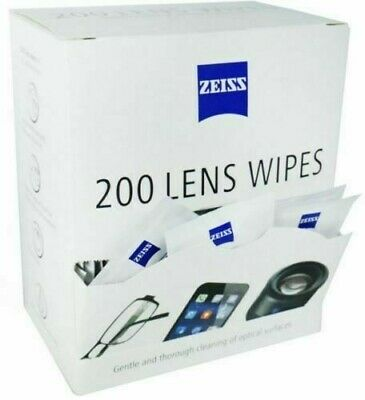 Zeiss Pre Moist Lens Wipes Glasses Individual Sachets Glass Cleaner 5-400 Wipes