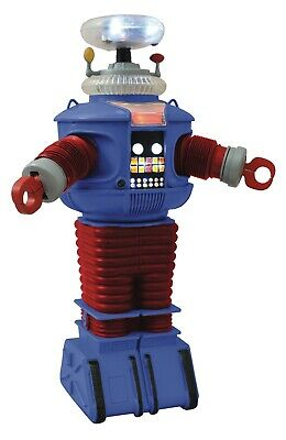 Diamond Select Toys Lost in Space Retro B9 Robot With Lights And Sounds In Stock