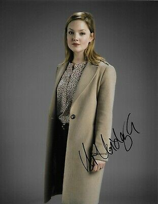 Holliday Grainger Signed Strike 10x8 Photo AFTAL
