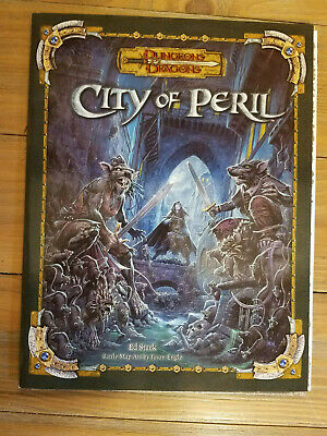 City of Peril Dungeons and Dragons TSR