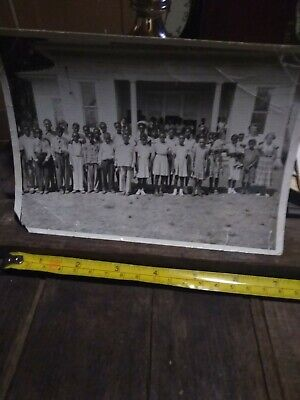 Segregation African American school Photo from Corsicana Texas White Teachers