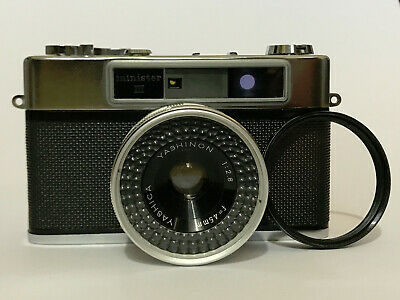 Yashica Minister III with Skylight filter and Case